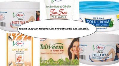 10 Productos Los más ayur a base de hierbas disponibles en la India