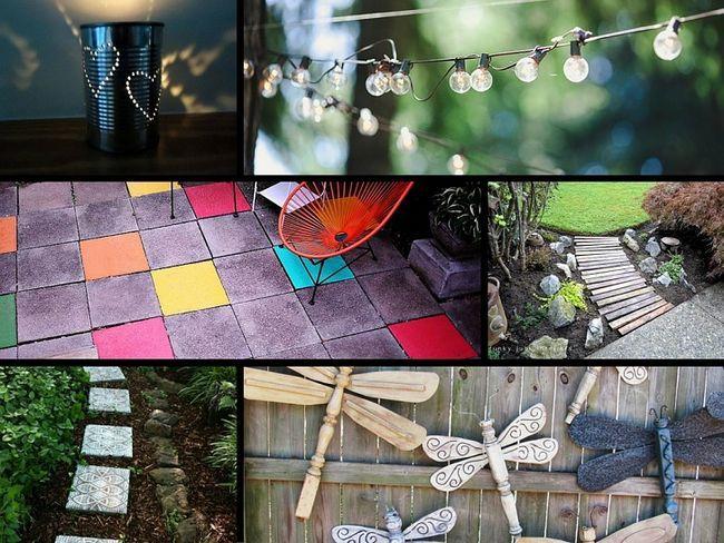 32 Ideas de genio para embellecer su jardín en un presupuesto