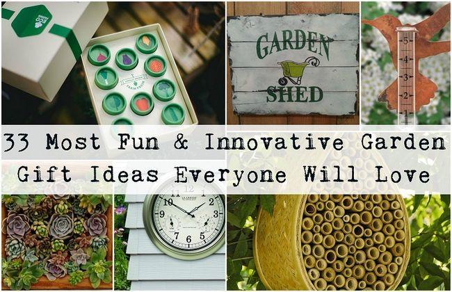 33 Ideas para regalos de jardín más divertidas e innovadoras que encantarán a cada jardinero
