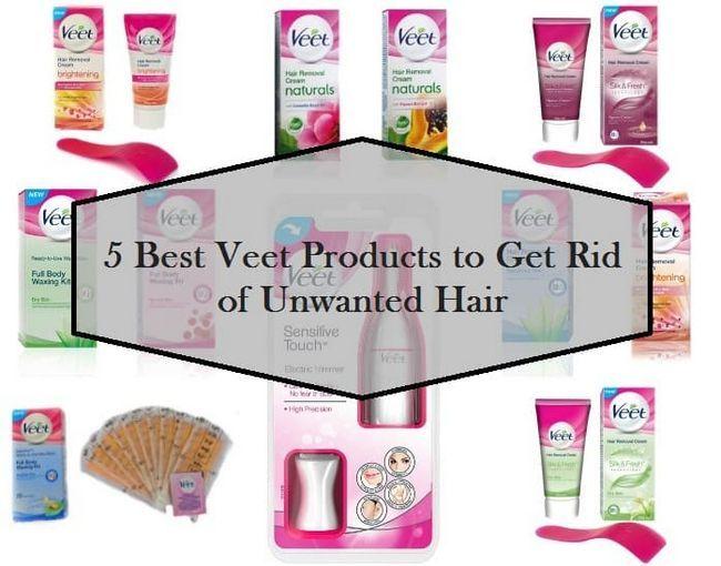 5 Mejores productos Veet disponible en la India