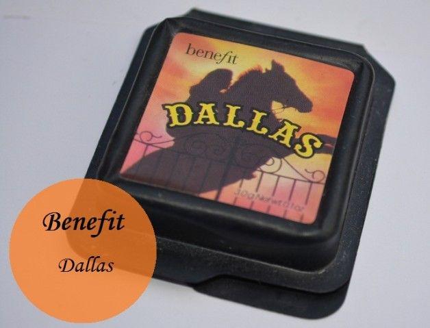Cosméticos beneficios Dallas rubor muestras bronceador y opinión