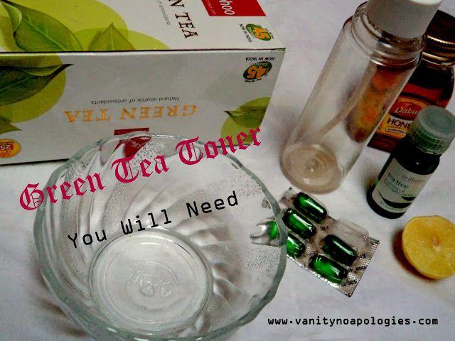 Hágalo usted mismo: tóner de té verde (paso a paso tutorial foto)