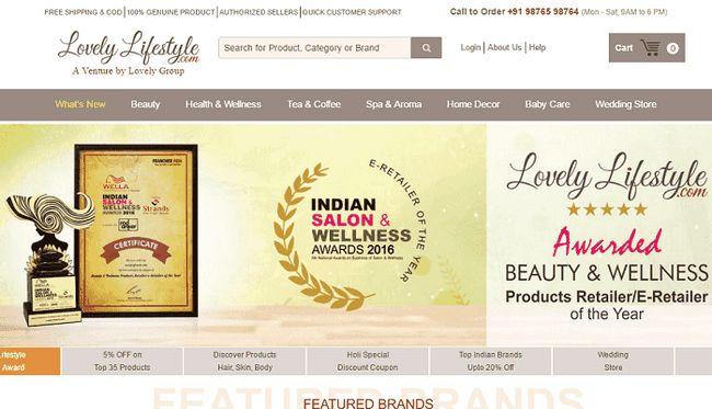 Estilo de vida preciosa: salón de belleza y productos para el bienestar de la India