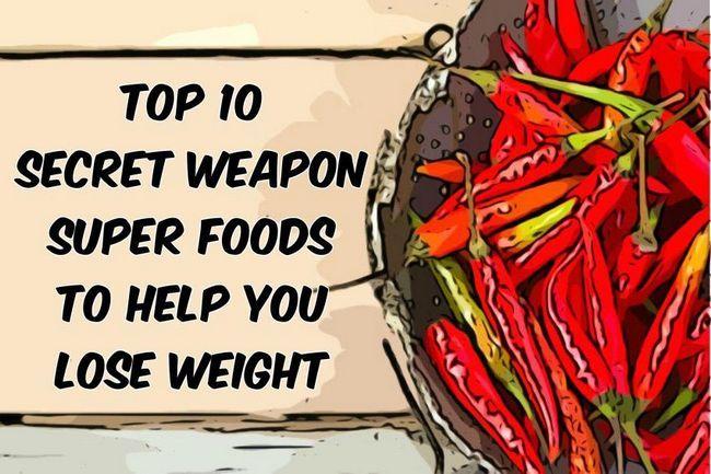 Top-10 arma secreta súper alimentos para ayudar a perder peso